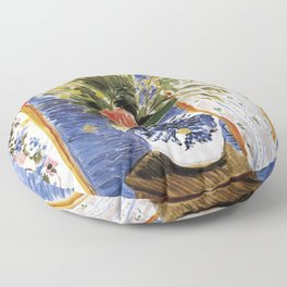 Henri Matisse - Poppies - Exhibition Poster Floor Pillow