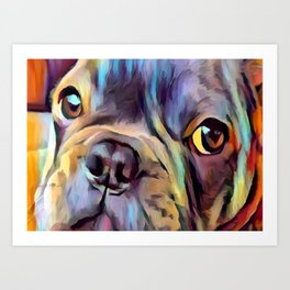 French Bulldog 4 Art Print