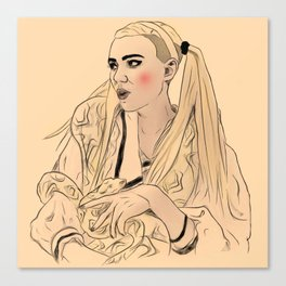 Grimes//Genesis 3 Canvas Print