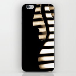 Feel that bass! iPhone Skin