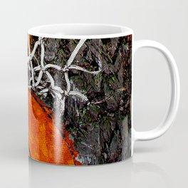 Basketball art hoop and net Coffee Mug