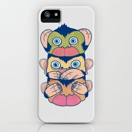 Hear no evil, Speak no evil, See no evil iPhone Case
