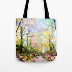 Amongst the Leaves Tote Bag