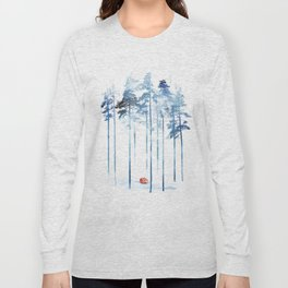 Sleeping in the woods Long Sleeve T-shirt