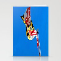 maryland Stationery Cards featuring Maryland Pride by Kelsey Hunt