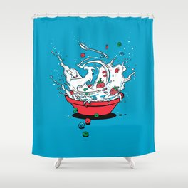 Cereal Killa Shower Curtain