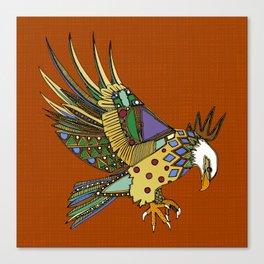 jewel eagle rust Canvas Print