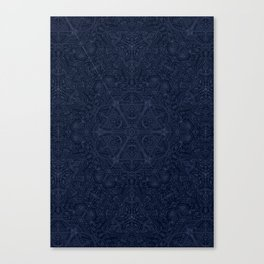 Sacred Temple Poster Canvas Print
