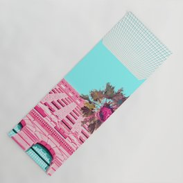 LA Palm Tree Look Up Yoga Mat