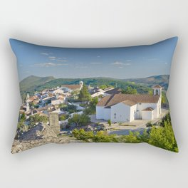 Marvao, medieval walled town, Portugal Rectangular Pillow
