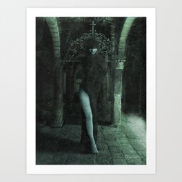 The Crypt Dancer Art Print