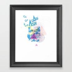 Cash Silk 001 Framed Art Print