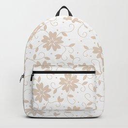 Five Petals Flowers Backpack