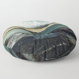 Derrynane Beach Floor Pillow