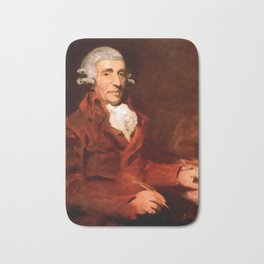 Franz Joseph Haydn (1732-1809) by John Hoppner in 1791 Bath Mat