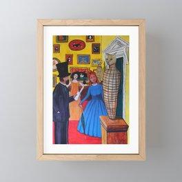 The Portobello Egyptologist Framed Mini Art Print