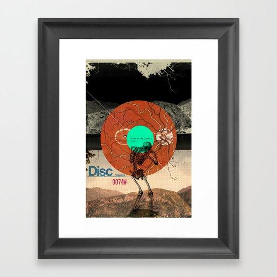 Tabvla Framed Art Print