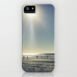 Cricket on the Beach iPhone Case
