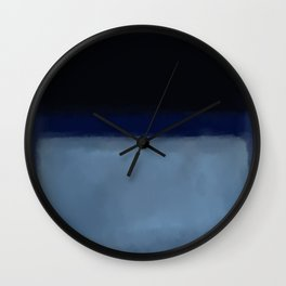 Rothko Inspired #1 Wall Clock