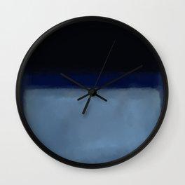 Rothko Inspired #1 Wall Clock