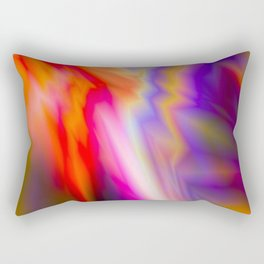 Abstract background of bright colors Rectangular Pillow