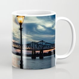 Mississippi River Bridge Natchez Coffee Mug