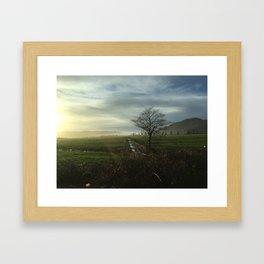 Oregon Countryside Framed Art Print