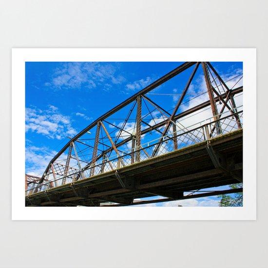 Victoria Bridge Art Print