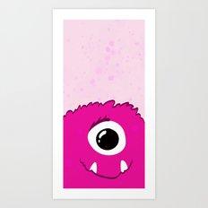 Monster Print - I Art Print