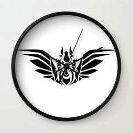 Pegasus (B/W) Wall Clock