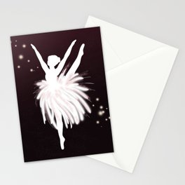 Space Ballerina (3 of 3) Stationery Cards