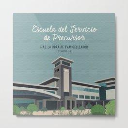 Escuela del Servicio de Precursor (Warwick, Bethel) Metal Print