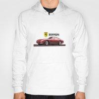 ferrari Hoodies featuring Ferrari 275  by kartalpaf