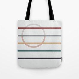 for Love || stripes & circle Tote Bag