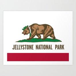 Jellystone National Park  Art Print
