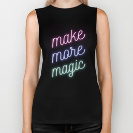 Make More Magic Biker Tank