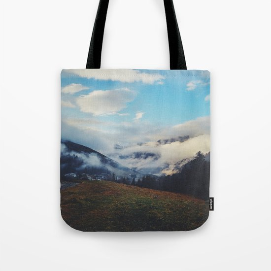 Valley in the spring Tote Bag