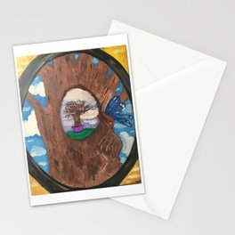 through the looking-glass Stationery Cards