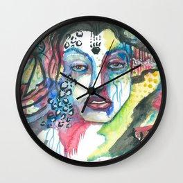 Mother Jaguar Wall Clock
