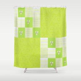green beauty  Shower Curtain