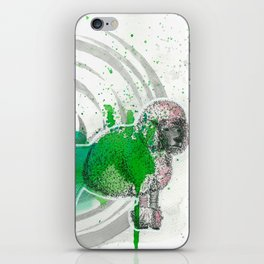 Poodle iPhone Skin