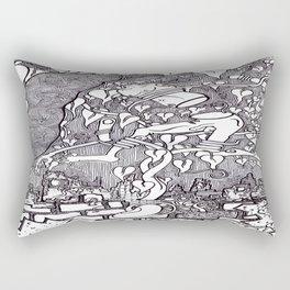 Bean Stalk Post Apocalypse Rectangular Pillow