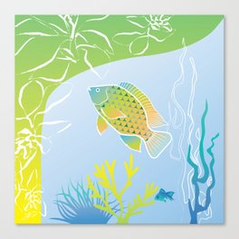 Sea Something Fishy Canvas Print