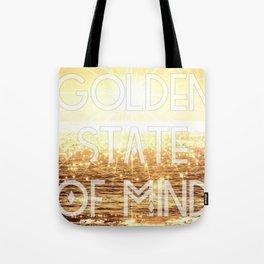 Golden State of Mind Tote Bag