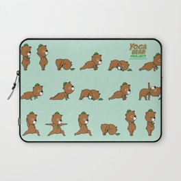 Yoga Bear Laptop Sleeve