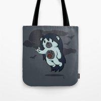 marceline Tote Bags featuring Marceline Abeardeer by pepemaracas