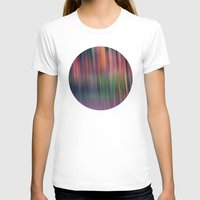 birch T-shirts featuring BIRCH GROVE by INA FineArt
