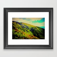 Mountainica Framed Art Print