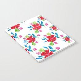Vintage Floral Notes Notebook