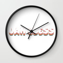 jah bless quote  Wall Clock